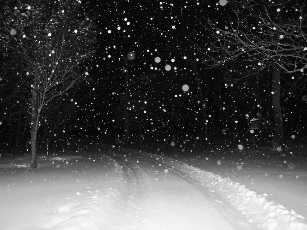Imagini pentru night snow