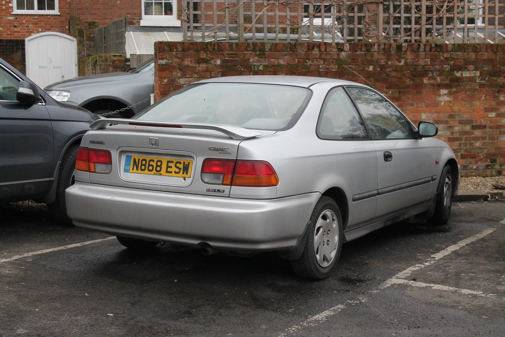 Lovely ... 1996 Honda Civic Coupe 1.6i LS Auto | By Charlie Cars