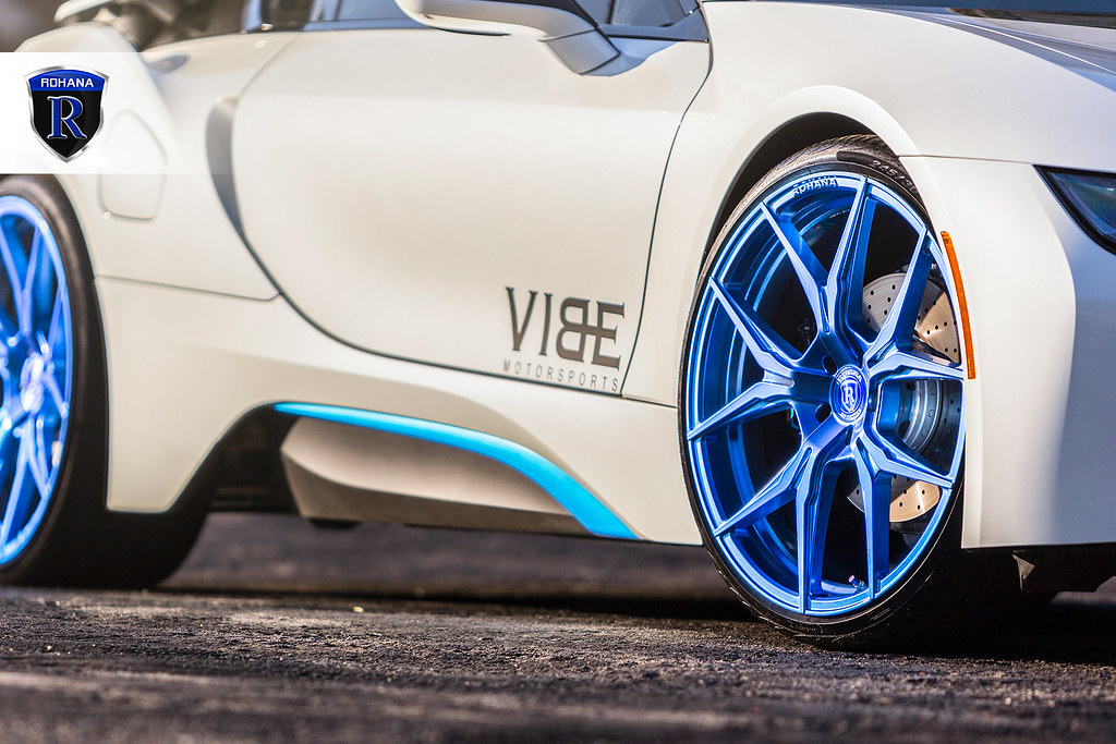 Bmw I8 On 22 Rohana Rfx5 Wheels Wheel Brand Rohana Wheel Flickr