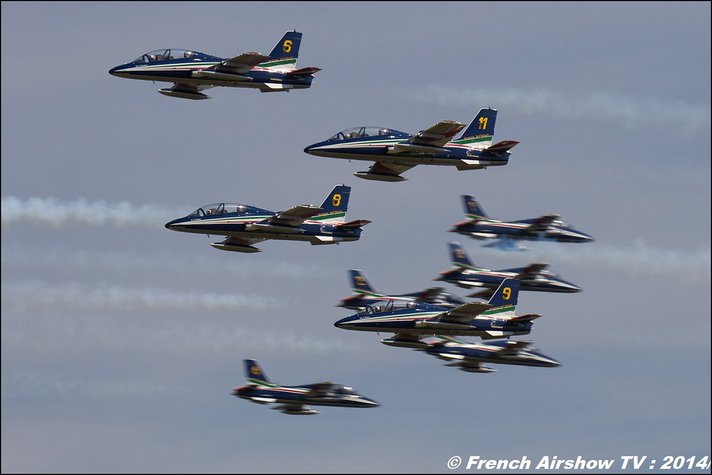 Frecce Tricolori , RIAT 2014 , Fairford , Royal International Air Tattoo 2014 , Meeting Aerien Air Tattoo , Meeting Aerien 2014
