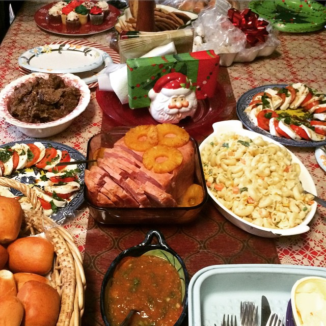 Christmas Roast and Ham Dinner. Had Tamales for Christmas … | Flickr