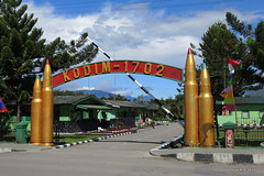 Army base - Wamena, West Papua
