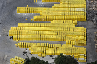 FlickrjobEXPO Yellow palettes | by Aerial Photography