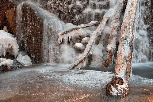 Frozen Avalon Falls - HDR | by freestock.ca ♡ dare to share beauty