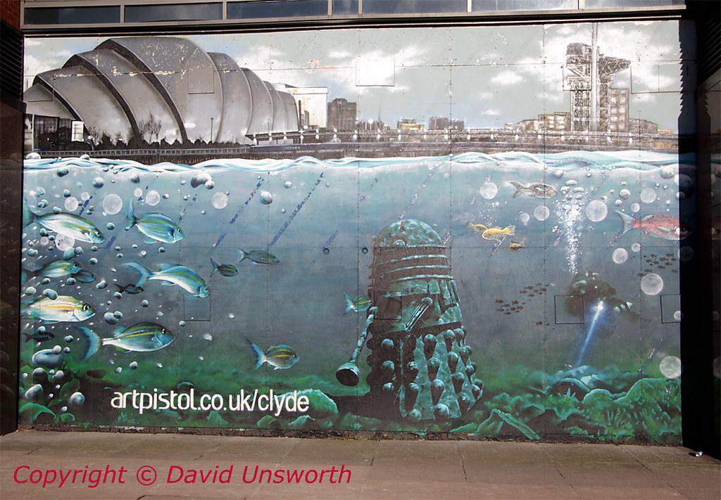 Glasgow mural artist rogue one bobby mcnamara flickr for Mural u vukovarskoj ulici