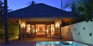 Deluxe beach bungalow | by huvafen_fushi
