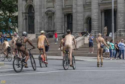 world naked bike ride montreal 56 | by Eva Blue