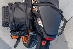 ktm duke 390 2014, with viaterra velox saddlebags (top vie… | flickr