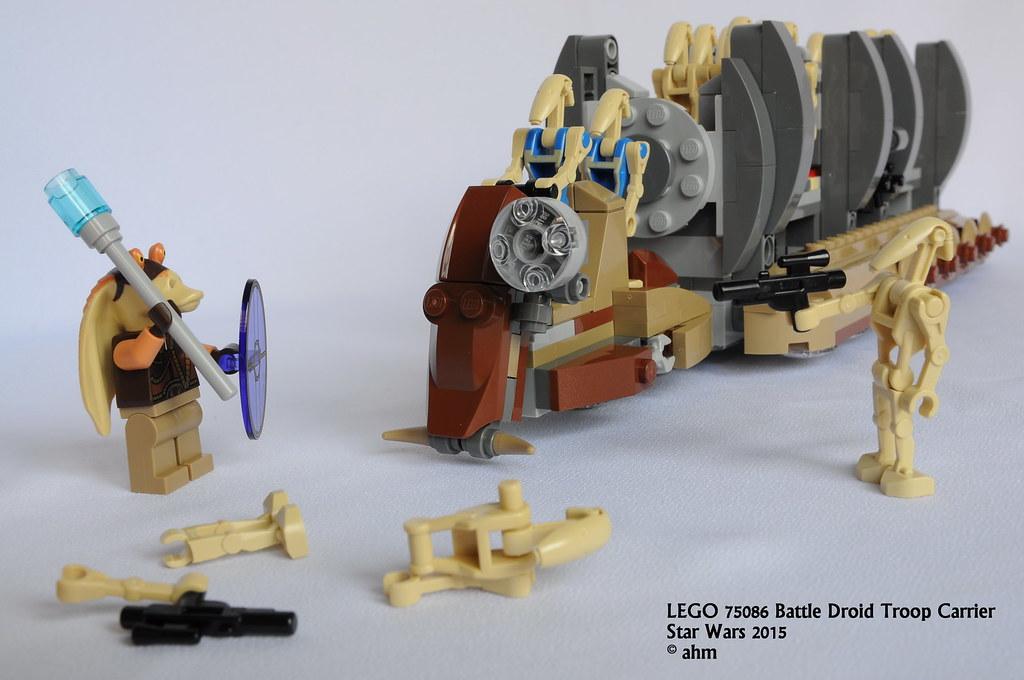 Star Wars LEGO 75086 Battle Droid Troop Carrier | Star Wars … | Flickr