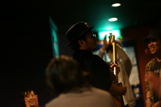 テキタクマツ live at Blue Heat, Tokyo, 08 May 2015. 152
