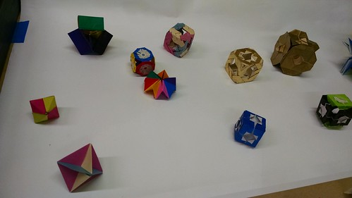 Origami Workshop, May 2, 2015