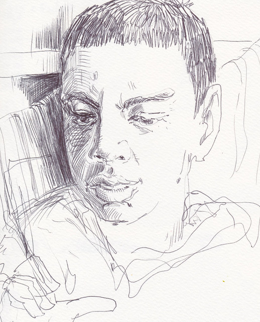 Sketchbook #99: Reading Time