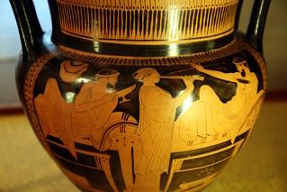 Museocivicomarzo15 088 vaso attico con scena di simposio for Vaso attico