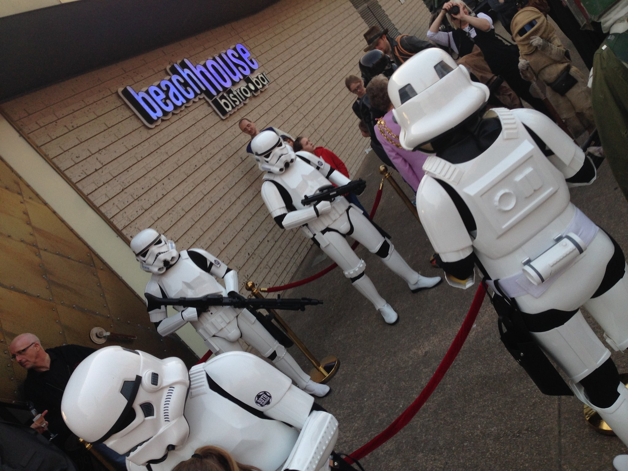 Blackpool Comic-Con Launch Party - Star Wars Stormtroopers at the Beach House Bistro & Bar