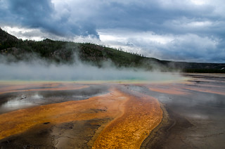 Yellowstone Burned and Clouds | by Philliz88