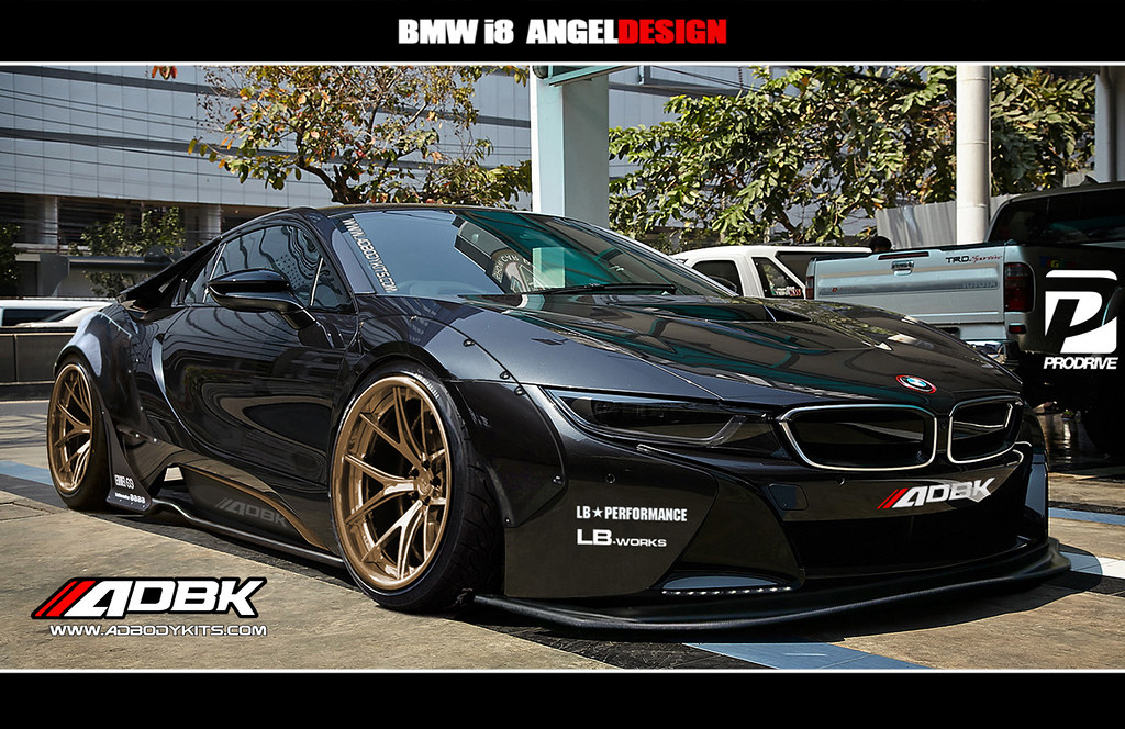 Bmw I8 Widebody Adbodykits Angel Designs Bodykits Flickr