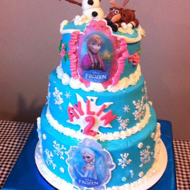 Frozen 3 Niveles 25 Cm 20 Cm 15 Cm Pastel L 237 Nea Cl 225 Sica