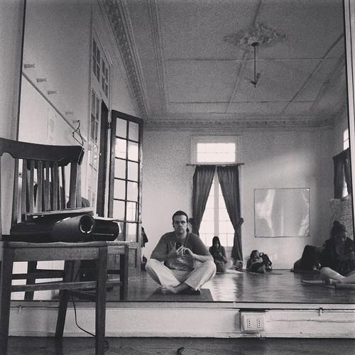 Modo yoga #Valparaíso #Chile 😌