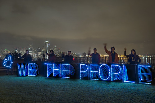 We The People Light Brigade | by Backbone Campaign