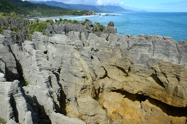 Pancake rocks, Punakaiki, South Island, New Zealand