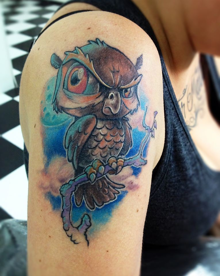 Best New School Tattoo Designs