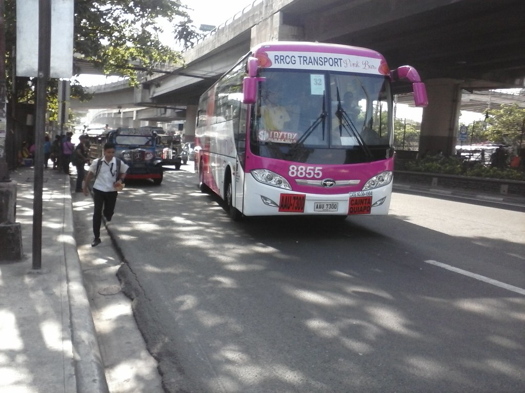 the pink bus | rrcg transport 8855 | lucky star | flickr