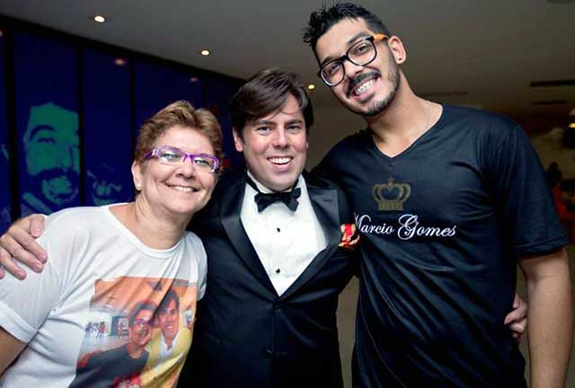 Márcio Gomes, Luka Pereira, Izabel Moutinho