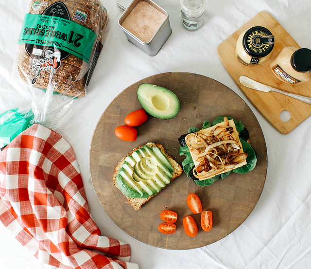 GRILLED TOFU & AVOCADO SANDWICH