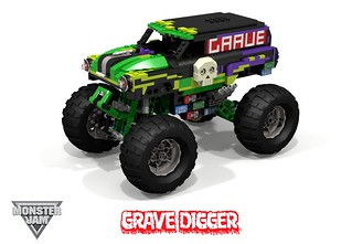 Grave Digger - Chevrolet 1950 Panel Van Monster Truck