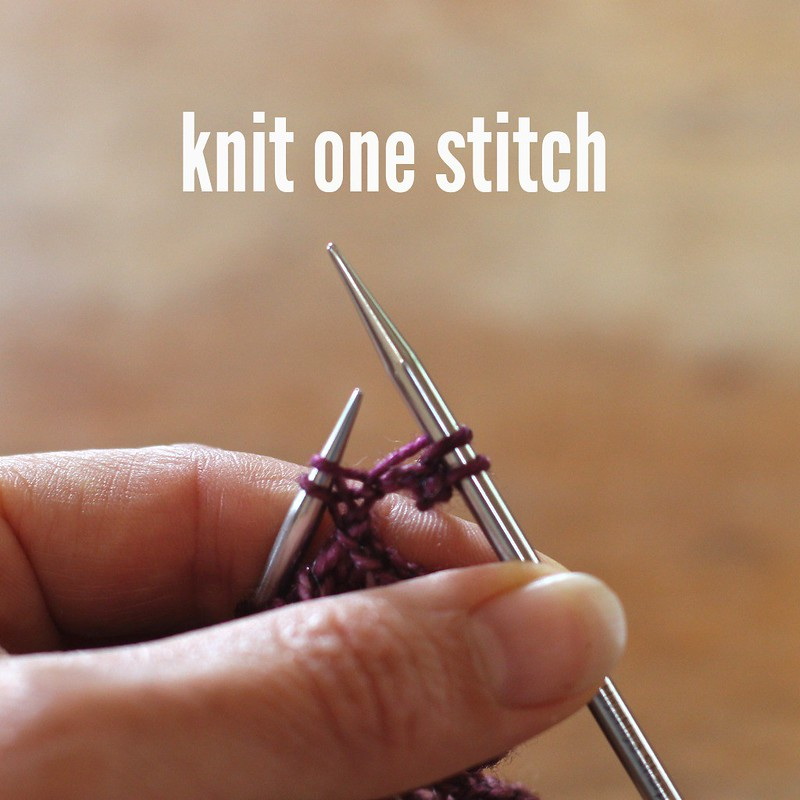 How To Knit A Picot Bind Off For The Mindful Shawl