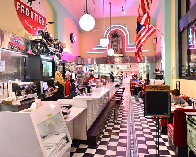 Interior del restaurante Loris de San Francisco, de los mejores sitios donde comer en San Francisco sin lugar a dudas
