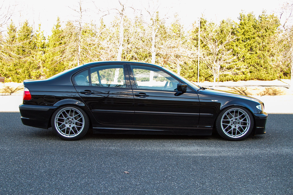 Jet Black E46 330i With 18 Quot Arc 8 Wheels Apex Arc 8 18x8