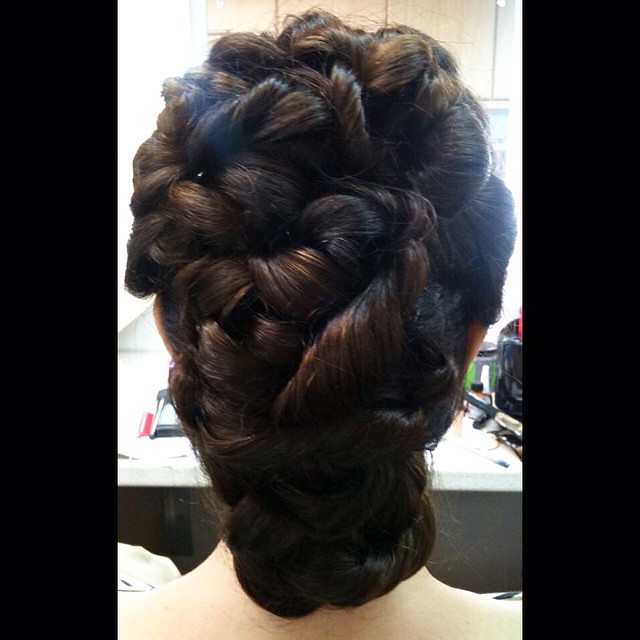 Another of my hairstyles that I created using @pravana pro… | Flickr