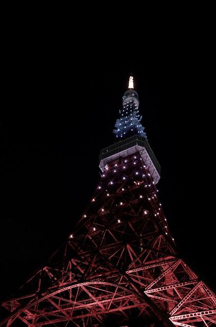 Tokyo Tower Rainbow Diamond Veil 14
