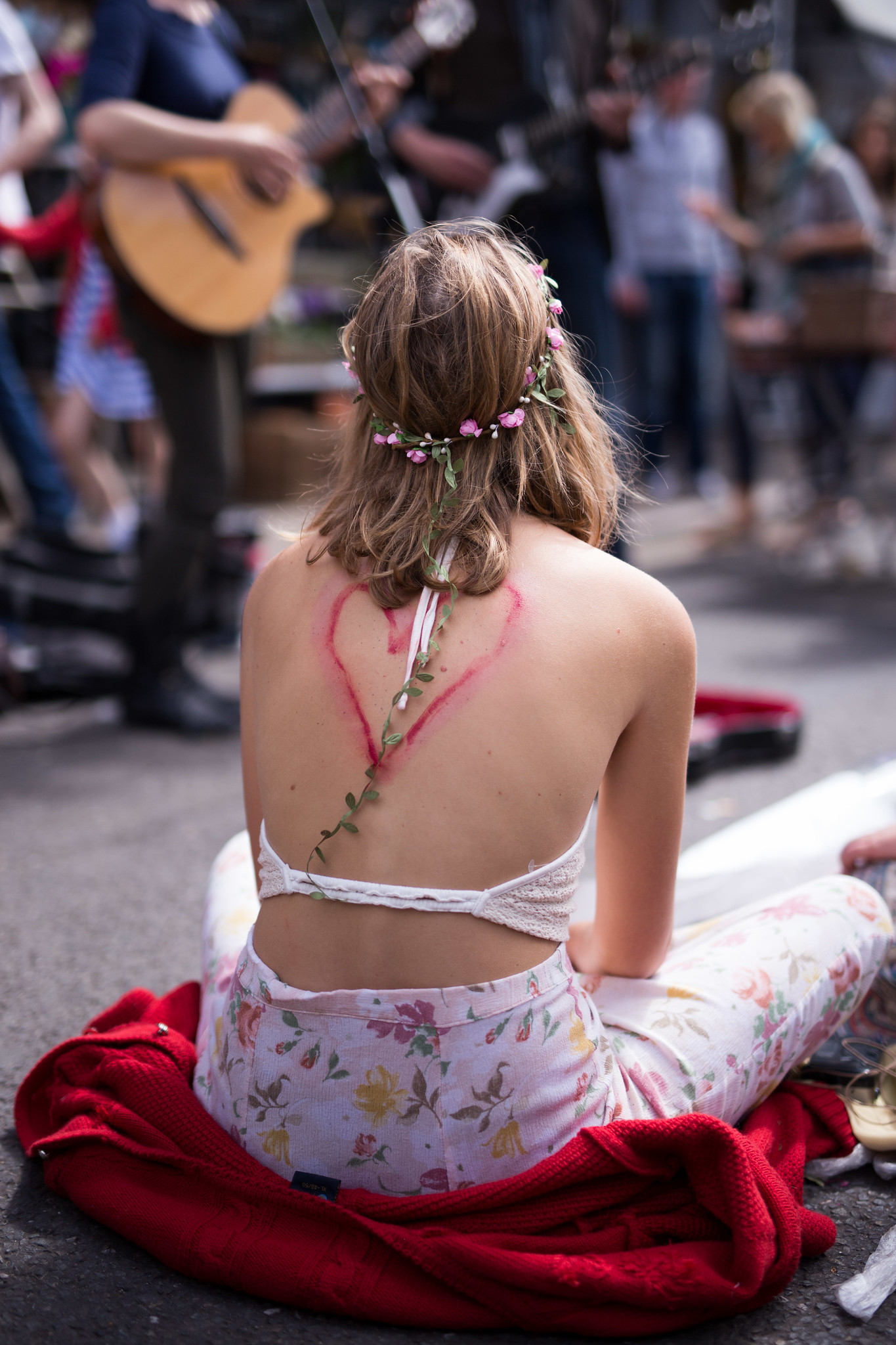 Street Style - Flower Child, Columbia Road