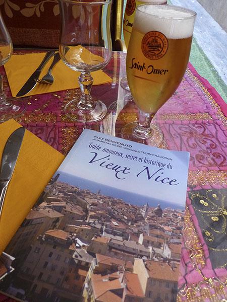 déjeuner dans le Vieux Nice