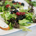 Balsamic Marinated Berry Salad with Goat Cheese Crouton