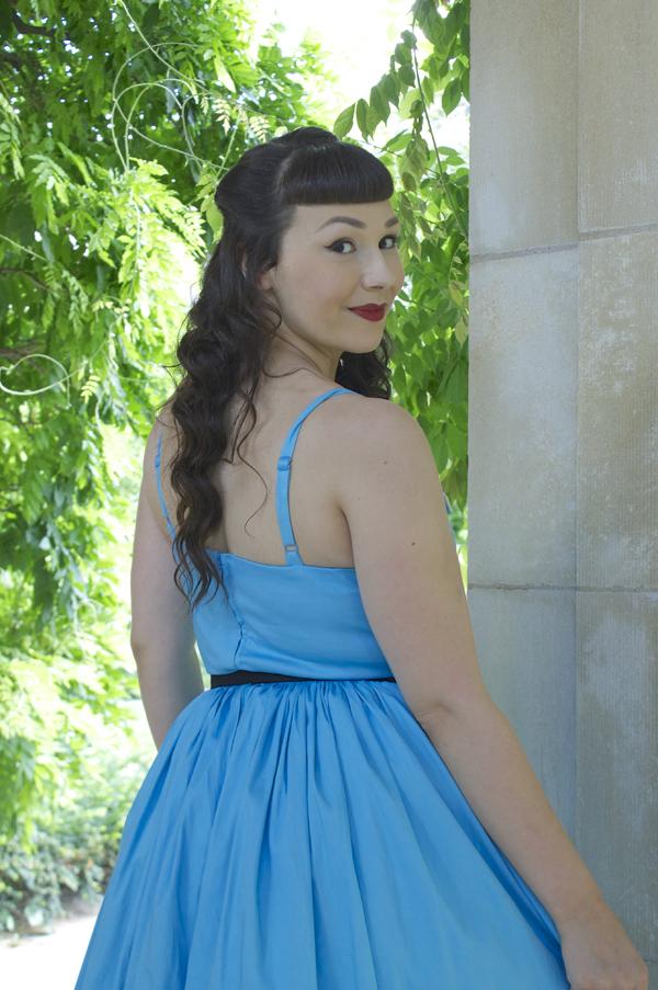 Blue Jenny Dress Pinup Girl