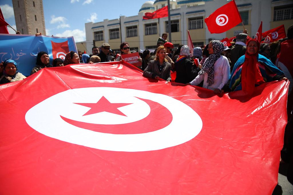 突尼西亞被塑造成阿拉伯世界的民主典範,一再受到肯定,究竟是福是禍?(攝影:陳逸婷)