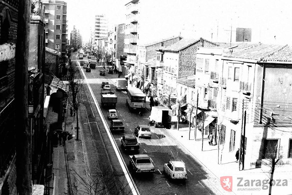 Avenida de madrid 1973 imagen irrepetible en formato for Pisos en delicias madrid