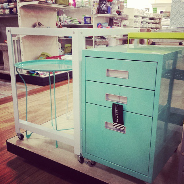 ... Both You And Me Need This Mint Green File Cabinet For Our Offices