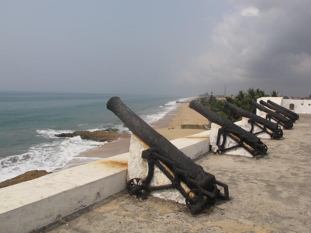 Cape Coast Castle Schloss Burg Slave Fort Ghana West Africa