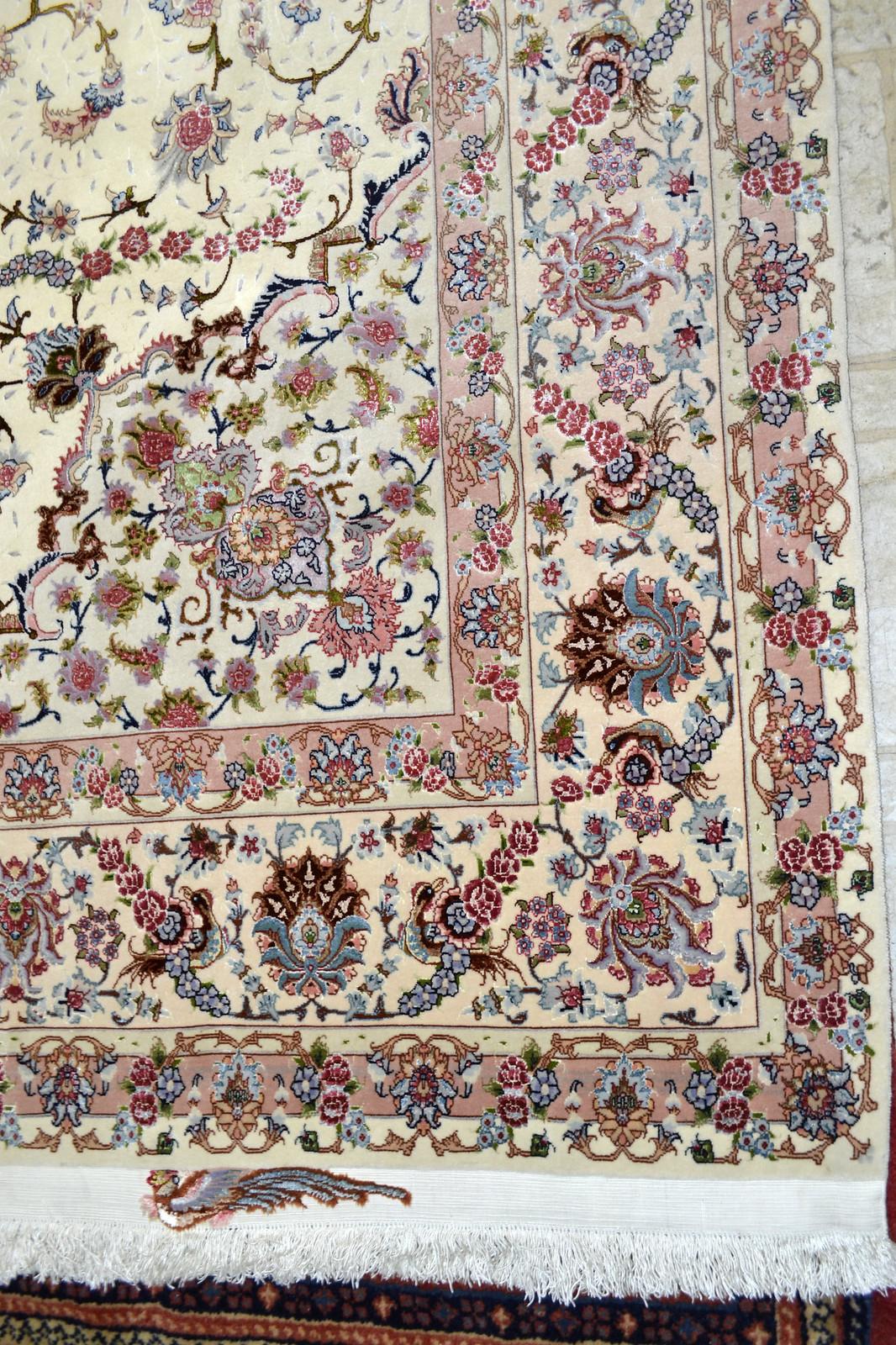 Shirfar Tabriz Persian Rug 7x10 - 70 raj (4)
