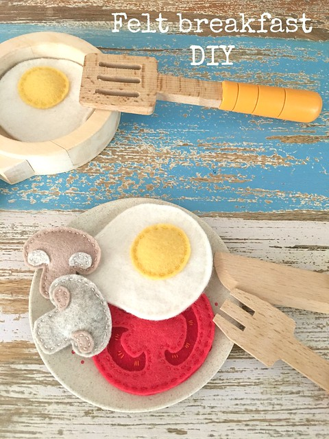 felt breakfast DIY