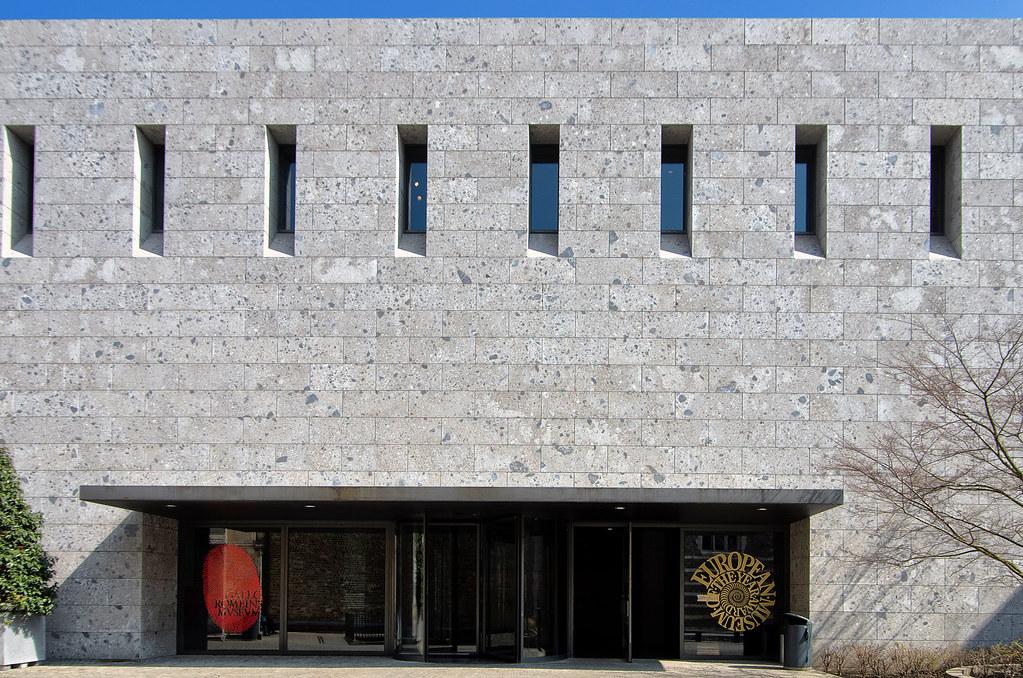 Tongeren Belgien eingang gallo römisches museum tongeren tongeren belgien