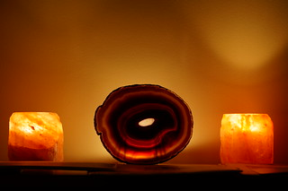 Agate and Himalayan Salt Lamps | by Andrew and Annemarie