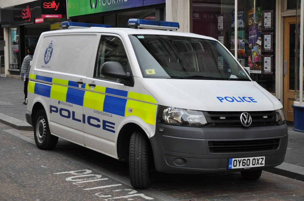 Police Scotland | VW Transporter | Cell Van | OY60 OXZ | Flickr