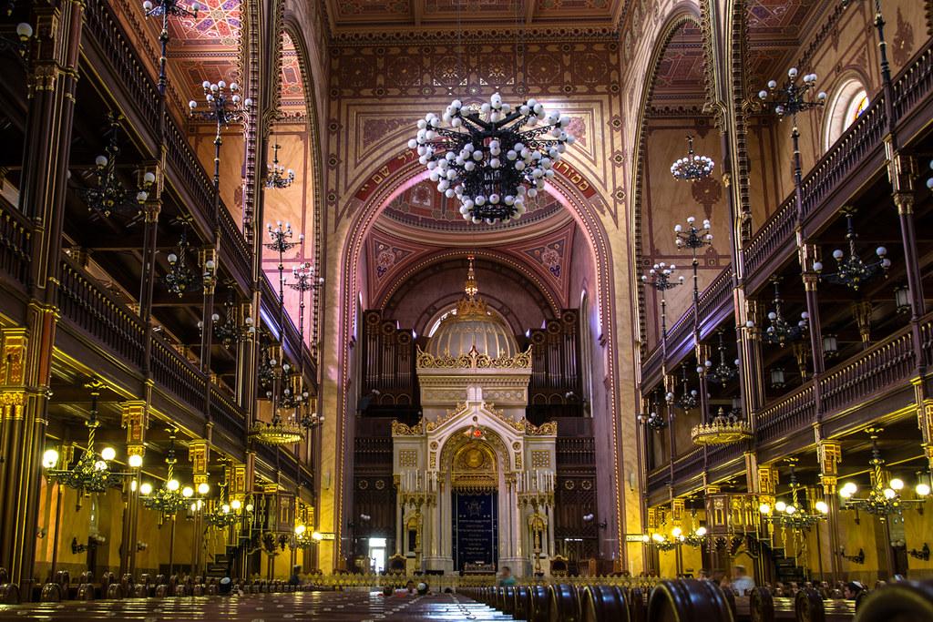 Budapest La Gran Sinagoga Doh 225 Ny Street Synagogue Do