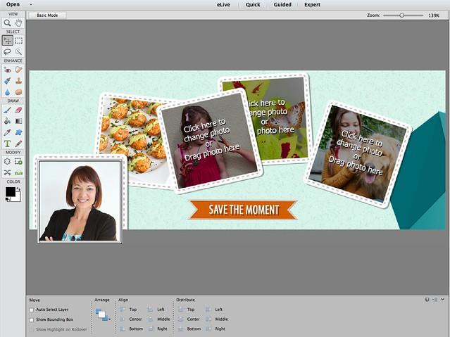 How to Make a Facebook Cover | cookincanuck.com #photography #photoshop