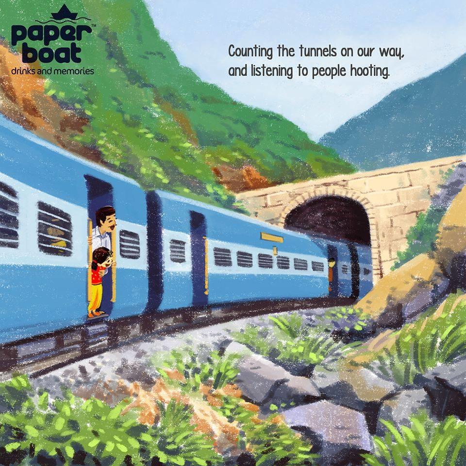 Train journey 15_The floating lens